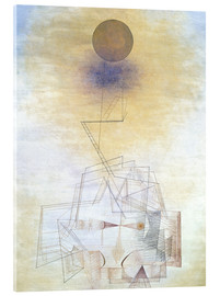Akryylilasitaulu  Bounds of the intellect - Paul Klee