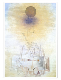 Juliste  Bounds of the intellect - Paul Klee