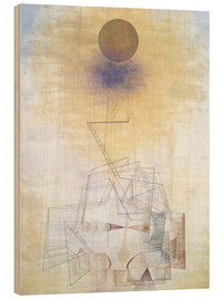Puutaulu  Bounds of the intellect - Paul Klee