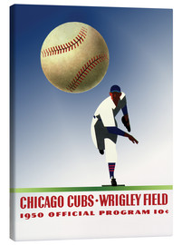 Canvas-taulu  chicago cubs 1950 - Sporting Frames
