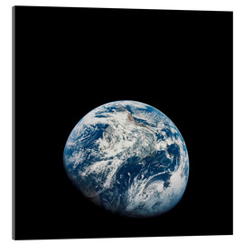 Akryylilasitaulu  Earth from the viewpoint of Apollo 8