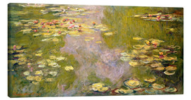 Canvas-taulu  The lily pond - Claude Monet