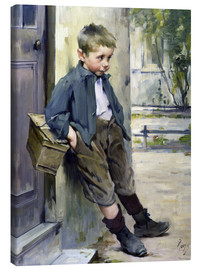 Canvas-taulu  Out of the Game - Henri Jules Jean Geoffroy