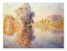 Juliste Early Morning on the Seine at Giverny