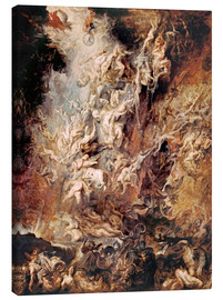 Canvas-taulu  The Descent into Hell of the Damned - Peter Paul Rubens