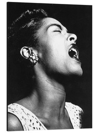 Alumiinitaulu  Billie Holiday