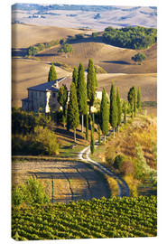 Canvas-taulu  Belvedere House in San Quirico - Terry Eggers