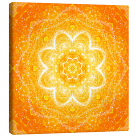 Canvas-taulu  Mandala, the blessing - Dolphins DreamDesign