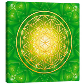 Canvas-taulu  Flower of life - healing - Dolphins DreamDesign