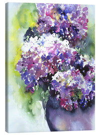 Canvas-taulu  Hydrangeas - Jitka Krause