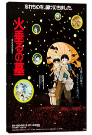 Canvas-taulu  Grave of the Fireflies