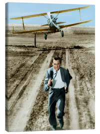 Canvas-taulu  Cary Grant in North by Northwest