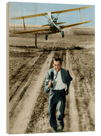 Puutaulu  Cary Grant in North by Northwest
