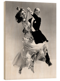 Puutaulu  Rita Hayworth and Fred Astaire
