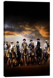 Canvas-taulu  THE MAGNIFICENT SEVEN