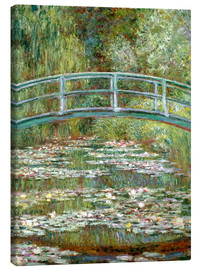 Canvas-taulu  The Japanese bridge - Claude Monet