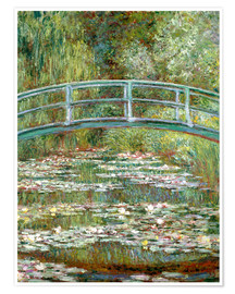 Juliste  The Japanese bridge - Claude Monet
