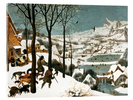 Akryylilasitaulu  Hunters in the snow - Pieter Brueghel d.Ä.