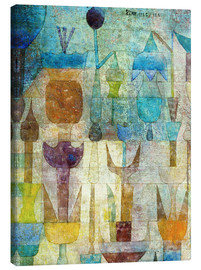 Canvas-taulu  Plants early in the morning - Paul Klee