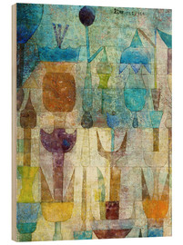 Puutaulu  Plants early in the morning - Paul Klee