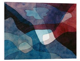 PVC-taulu  Mountain and Air Synthetic - Paul Klee
