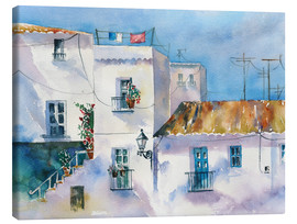 Canvas-taulu  Spanish houses - Jitka Krause