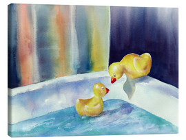 Canvas-taulu  Rubber ducks - Jitka Krause