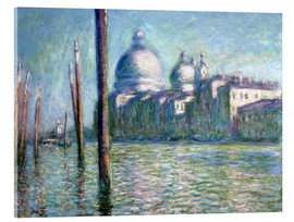 Akryylilasitaulu  The Grand Canal - Claude Monet
