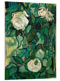 PVC-taulu  Roses and Beetle - Vincent van Gogh