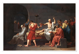 Juliste The Death of Socrates