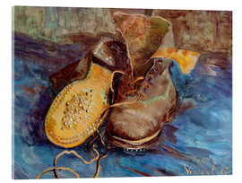 Akryylilasitaulu  The Shoes - Vincent van Gogh