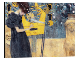 Alumiinitaulu  The music - Gustav Klimt