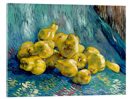 Akryylilasitaulu  Still life with quinces - Vincent van Gogh