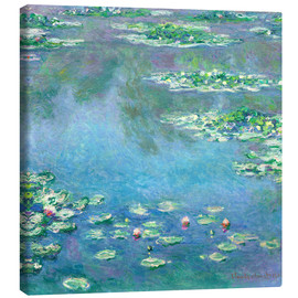 Canvas-taulu  Water Lilies - Claude Monet