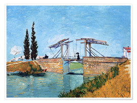 Juliste  The drawbridge in Arles - Vincent van Gogh