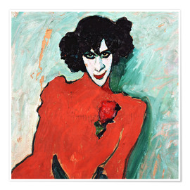 Juliste  The dancer, Alexander Sakharov - Alexej von Jawlensky