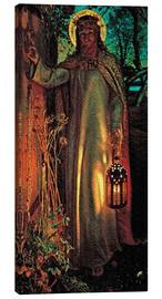 Canvas-taulu  The Light of the World - William Holman Hunt