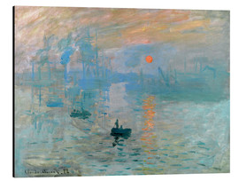 Alumiinitaulu  Sunrise - Claude Monet