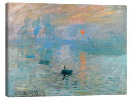Canvas-taulu  Sunrise - Claude Monet