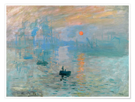 Juliste  Sunrise - Claude Monet