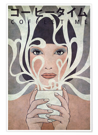 Juliste  Coffee Time - Kuba Gornowicz