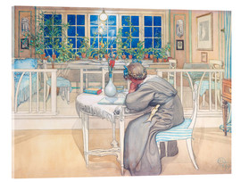 Akryylilasitaulu  The Evening Before the Journey to England - Carl Larsson