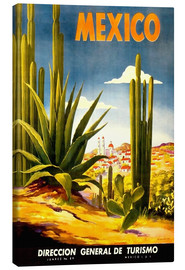 Canvas-taulu  Mexico cactus - Travel Collection