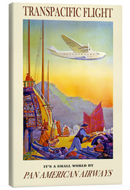 Canvas-taulu  it's a small world - Travel Collection