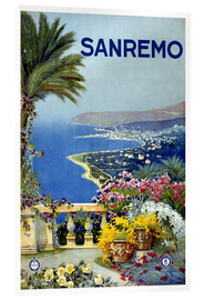 Akryylilasitaulu  Sanremo, Italy - Travel Collection
