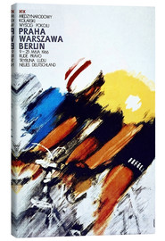 Canvas-taulu  Races, Prague - Warsaw - Berlin - Advertising Collection