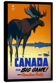 Canvas-taulu  Canada - big game - Travel Collection