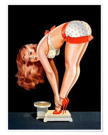 Juliste Pin Up on Scale