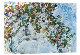 PVC-taulu  The roses - Claude Monet