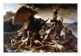 Juliste  Raft of the Medusa - Theodore Gericault